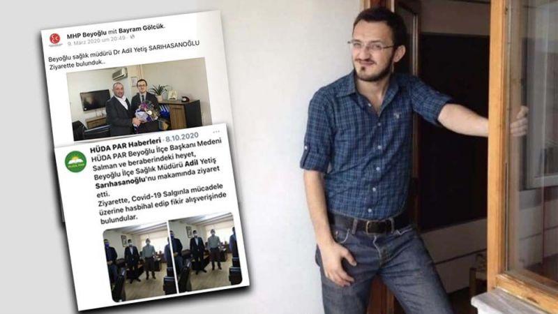 Alevilere ve Kürtlere yönelik cinsiyetçi ve ırkçı ifadeler kullanan başhekim görevden alındı