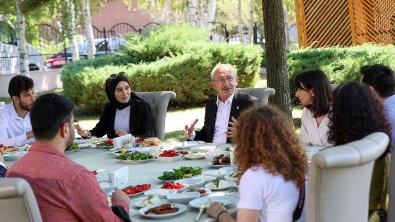 Kılıçdaroğlu ODTÜ'lü gençlerin sorularını yanıtladı