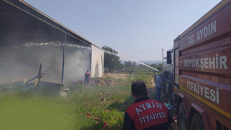 Aydın Büyükşehir İtfaiyesi'nin yangınlara karşı hızlı müdahalesi takdir topluyor