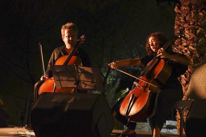 Genç sanatçılardan Güvercinada'da muhteşem konser
