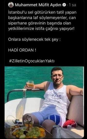 Skandal! AKP'li vekil İmamoğlu'nun montajlı fotoğrafını gerçek gibi paylaştı!