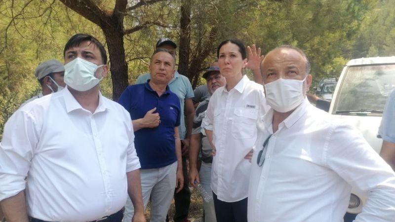 Yavuz, Marmaris'ten böyle seslendi: Ülkemizin ormanlarını yakabilirler ama ülkemizi asla yıkamazlar