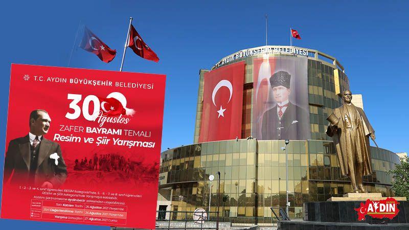 Aydın Büyükşehir Belediyesi'nden Zafer Bayramı temalı resim ve şiir yarışması