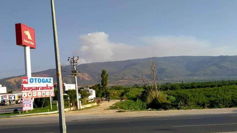 Karacasu'da dumanlar yükseliyor!