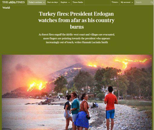 The Times'tan yandaşlara mesai yaptıracak Erdoğan analizi