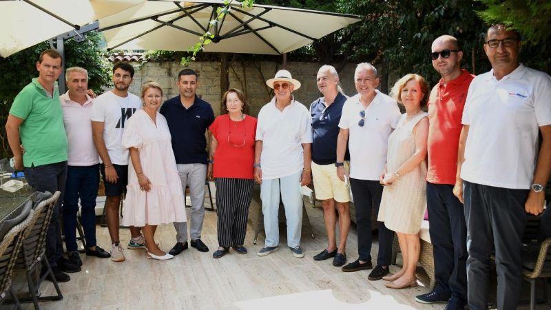Rahmi Koç'tan Başkan Ömer Günel'e nezaket ziyareti