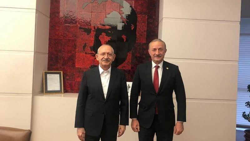 Başkan Atabay'dan CHP Lideri Kılıçdaroğlu'na ziyaret