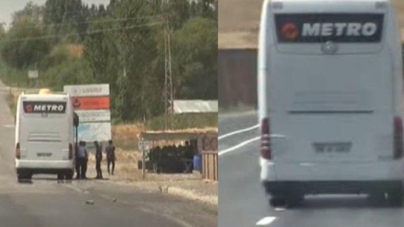Skandal! Metro Turizm kaçak mülteci taşıyor!