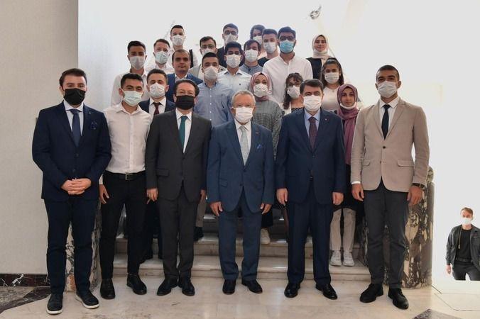 Nazilli İİBF öğrencileri 'Ben Kaymakam mı Olsam Projesi'ne katıldı