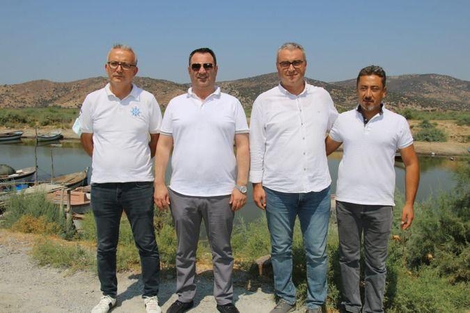 Aydın Büyükşehir Belediyesi'nin Bafa Gölü'nde yaptığı çalışma canlıların hayatını kurtardı