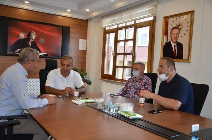 Başkan Kaplan afet bölgesi Bozkurt'a gitti
