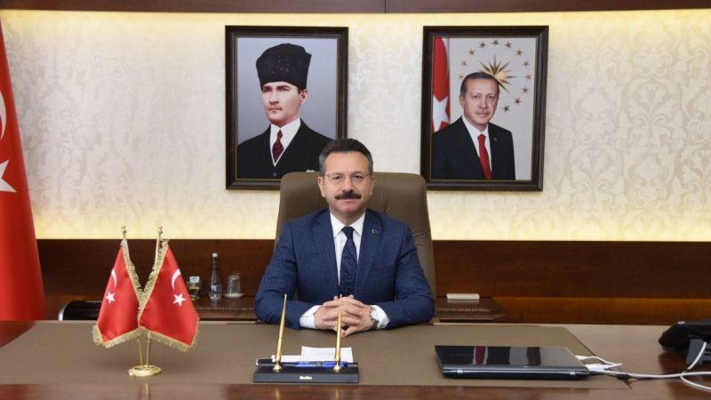 Vali Aksoy'dan 30 Ağustos Zafer Bayramı mesajı
