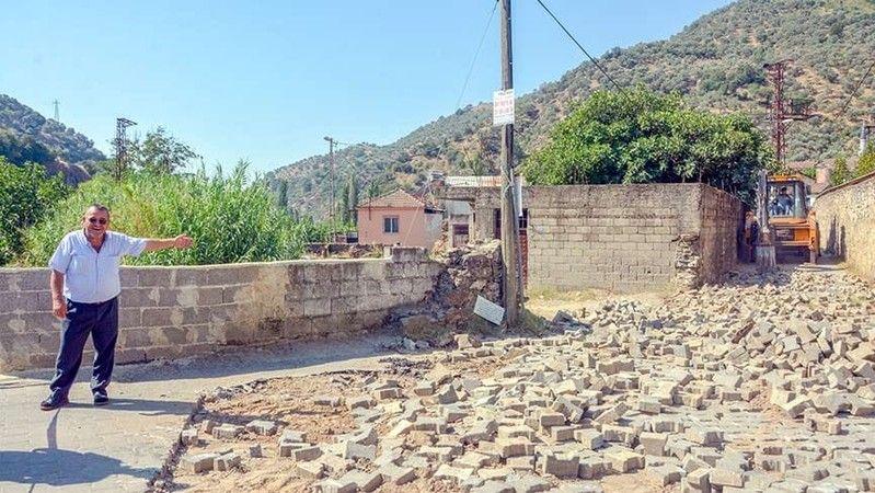 Köşk Belediyesi Uzundere Mahallesi'nin yollarını yeniliyor