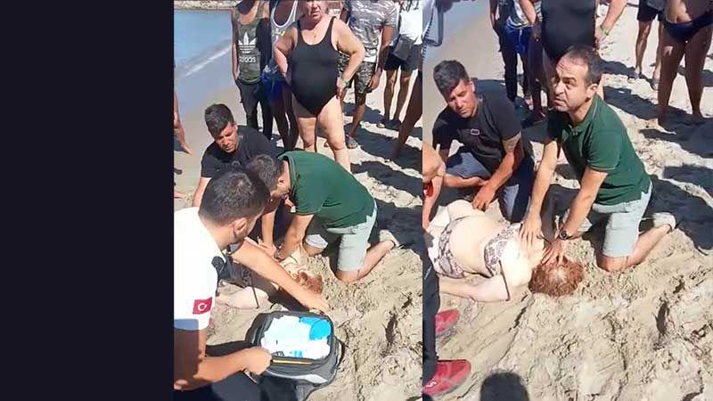 Annesini ziyarete giden İl Sağlık Müdürü, Boşnak turistin hayatını kurtardı