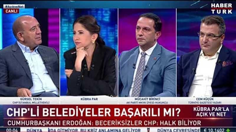 Gürsel Tekin'den, Çerçioğlu yorumu: Özlem Çerçioğlu lider konumuna oturdu
