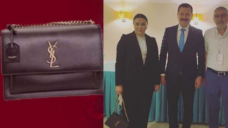 'İtibardan tasarruf olmaz' diyen bir başka AKP'li ismin çantasının fiyatı dudak uçuklattı! 8 asgari ücrete bedel