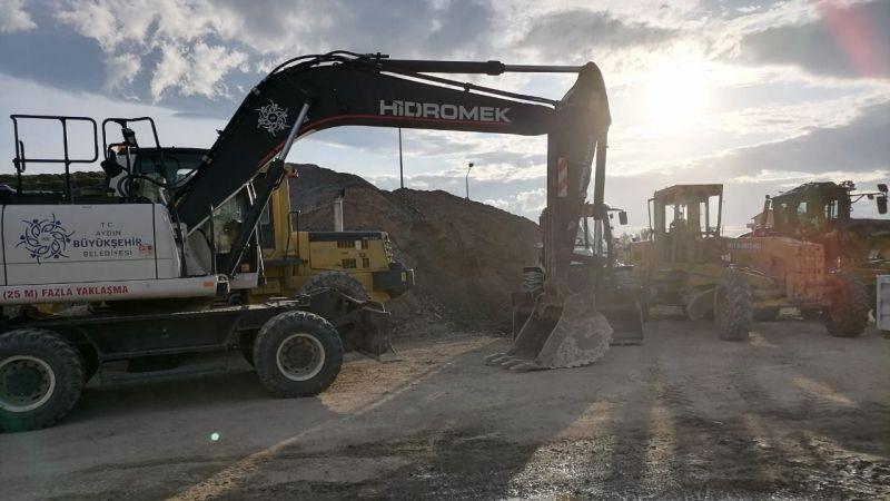 Büyükşehir Belediyesi şiddetli yağış beklentisine karşı teyakkuza geçti
