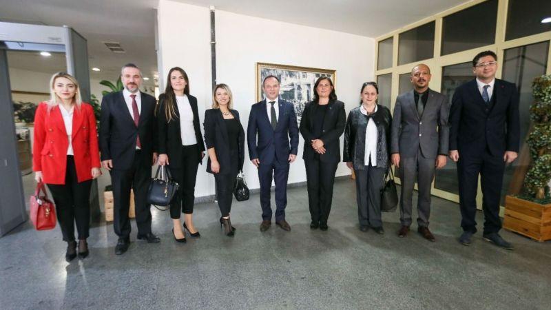 Aydın Barosu'ndan Başkan Çerçioğlu'na ziyaret