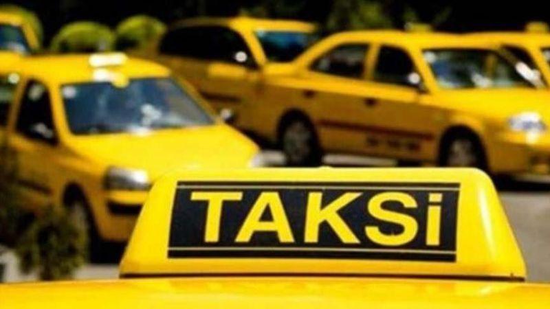Taksicilere plakalı Korona uygulaması