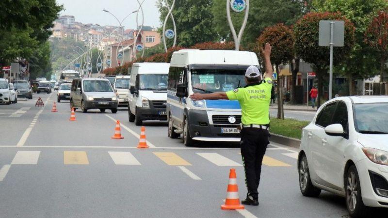 Üç günde 71 araç trafikten men edildi