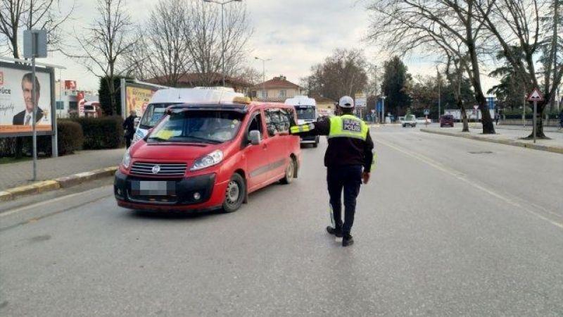 17 araç trafikten men edildi