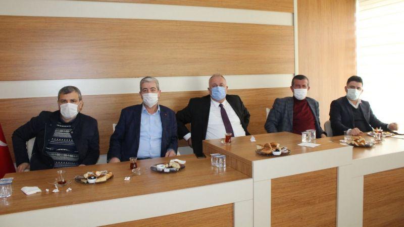 Başkan Özten icraatlarını anlattı