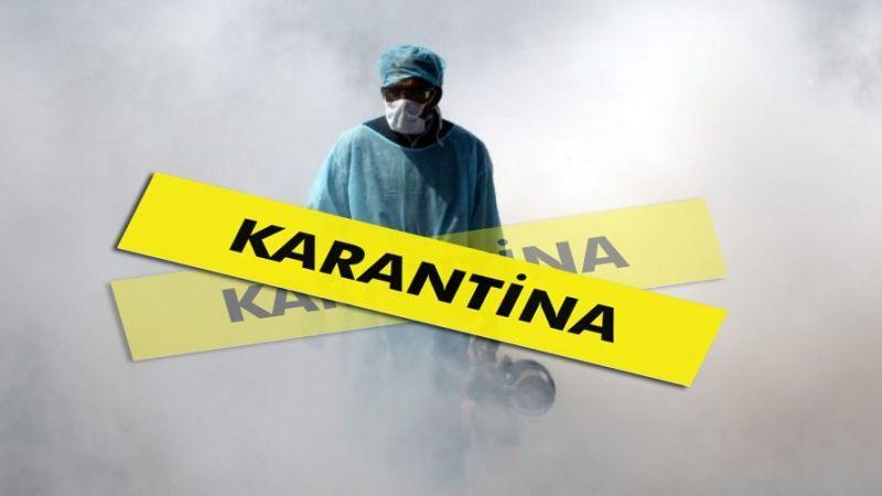 Kaynarca'da 6 konut karantinada