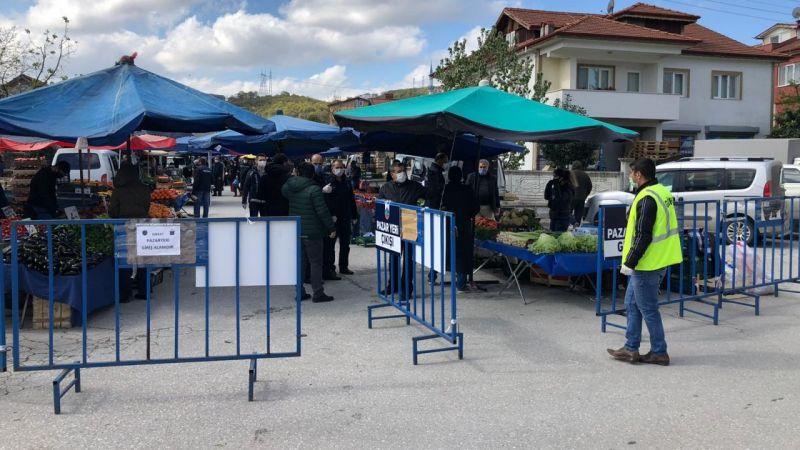 İşte  şehirde açık olan pazarlar