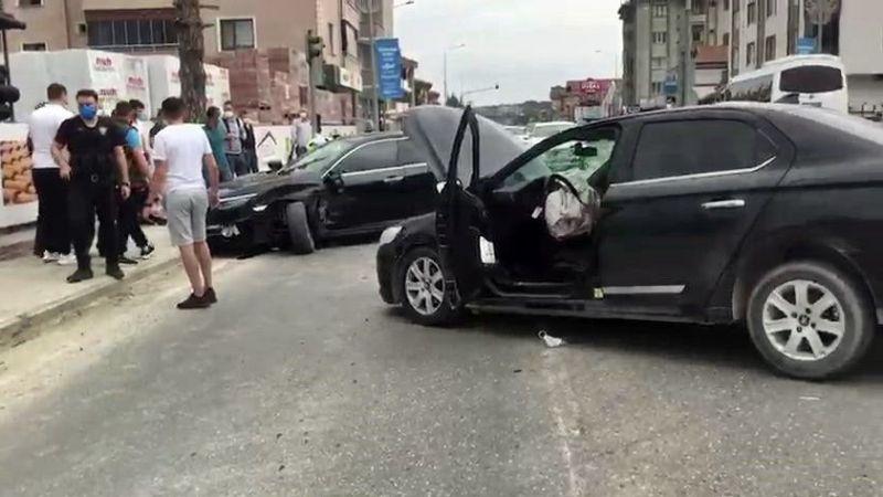 Sapanca Güldibi'nde kaza:2 yaralı