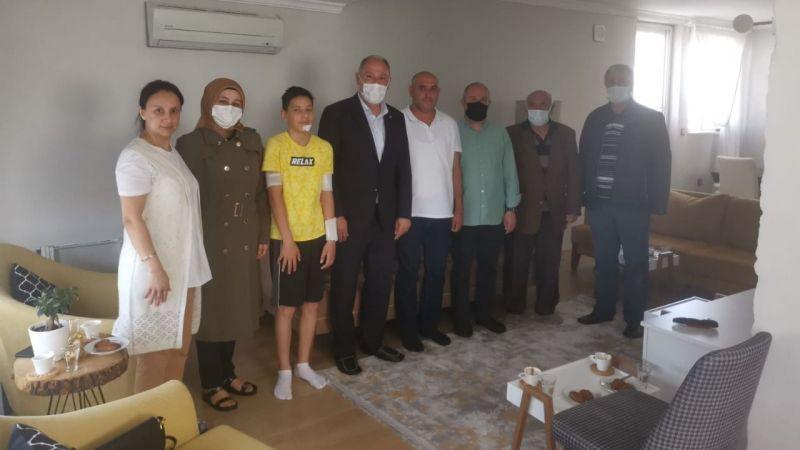 Başkan Aydın'dan Karya'ya ziyaret