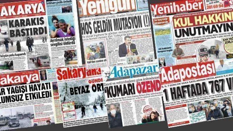 Yerel gazeteler bugün ne yazdı?