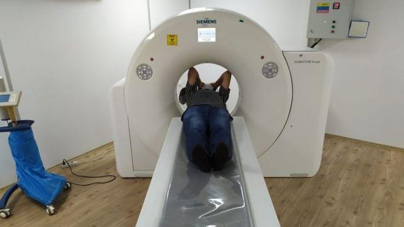 Karasu'ya tomografi cihazı geldi