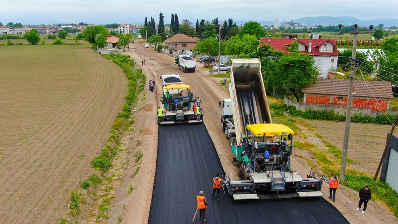 Süleymanbey'de asfalt tamam