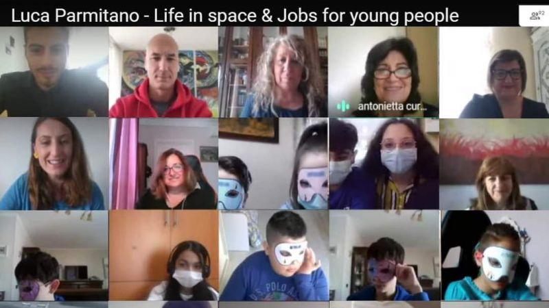 Aykut Yiğit öğrencileri astronot ile buluştu