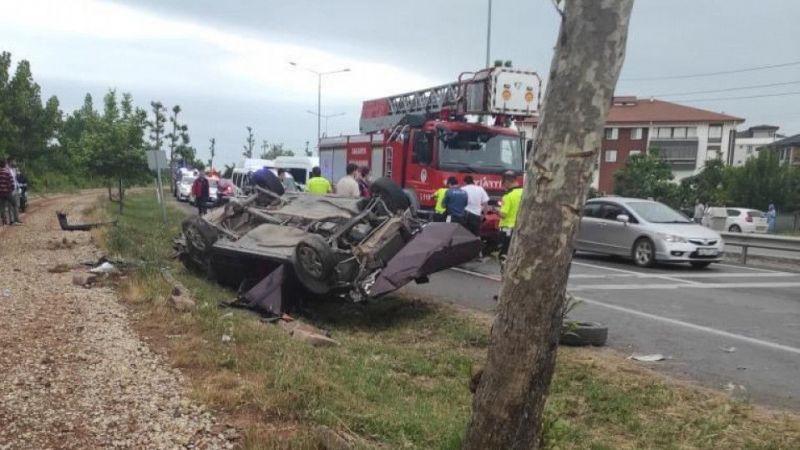 Oğuzhan bu kazada hayatını kaybetti