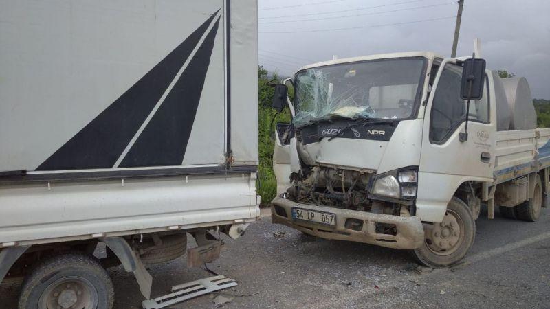 Taraklı'da zincirleme kaza