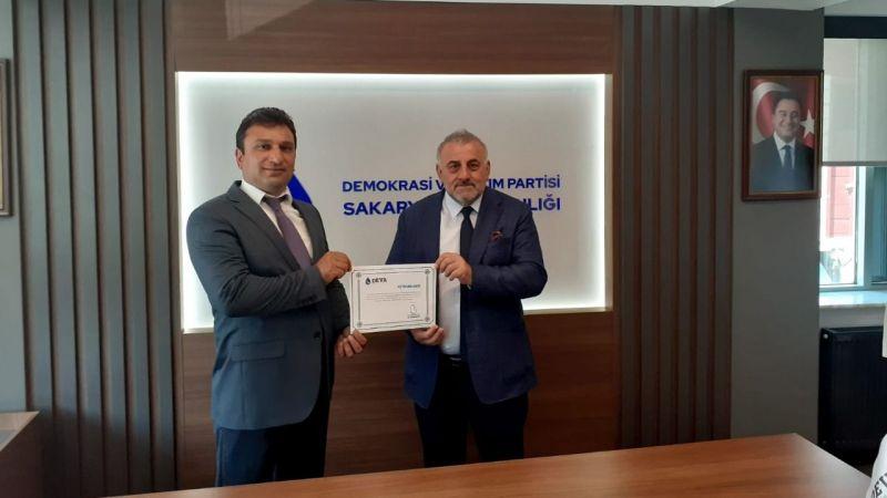 Karapürçek Deva Partisi ilçe başkanı atandı
