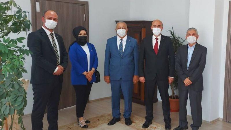 MHP Adapazarı'ndan Kaymakam'a ziyaret