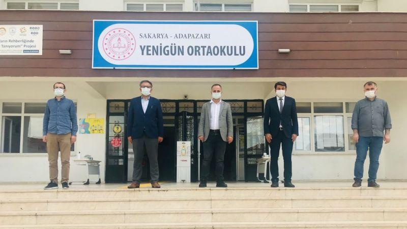 MEB Daire Başkanı salonları denetledi