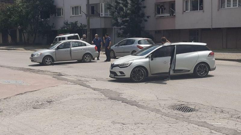 Park halindeki araç kazaya neden oluyordu