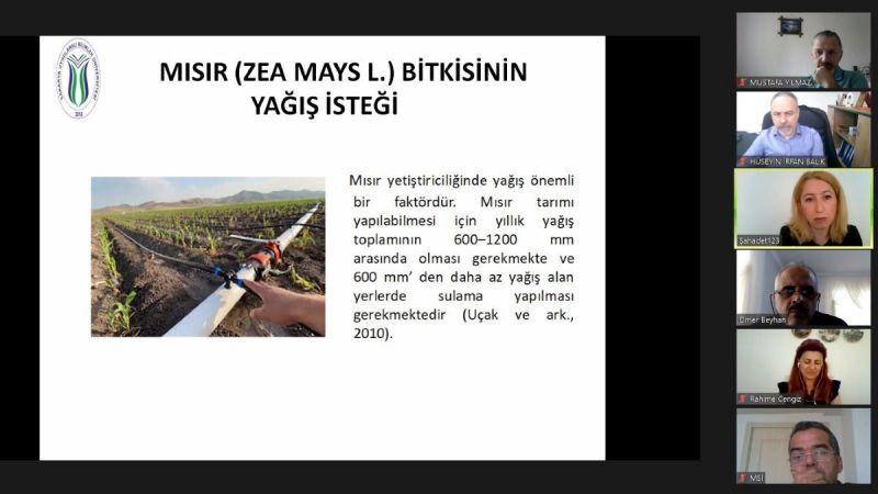 SUBÜ'den tarıma lisansüstü bakış