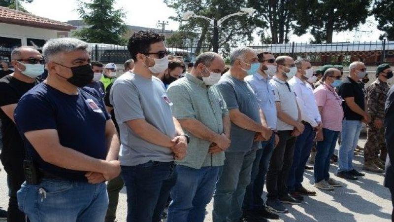 Sakaryalı polis için, Balıkesir'de tören düzenledi