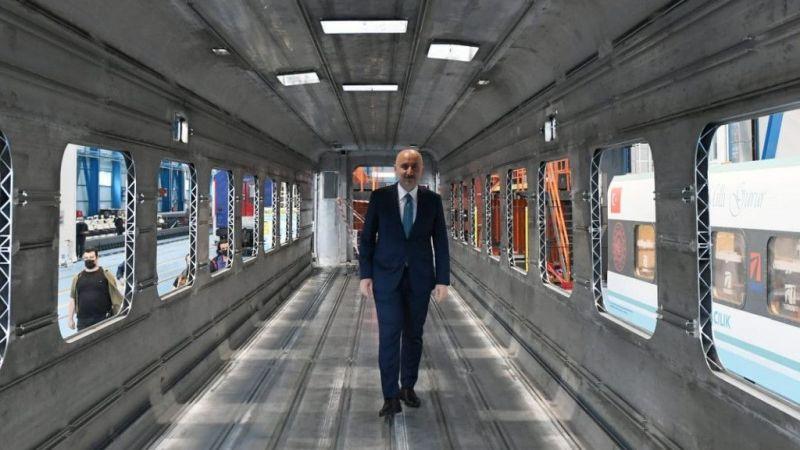 Bakan'dan Milli Elektrikli Tren müjdesi
