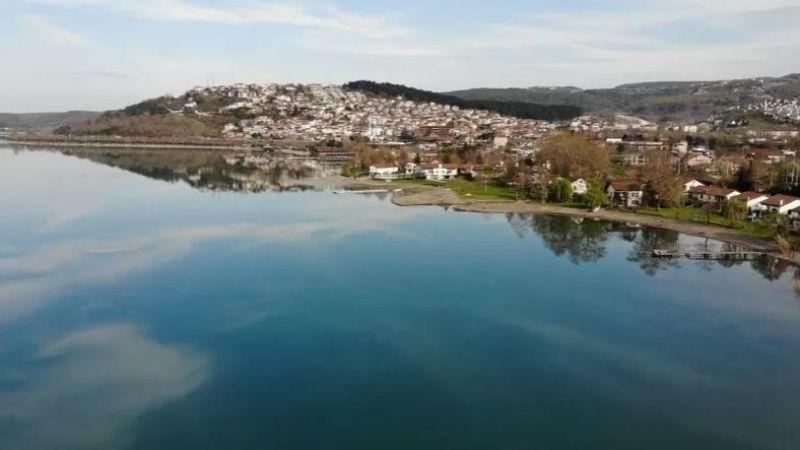 Sapanca'nın su seviyesi yükseldi