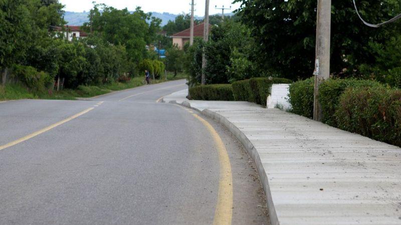 YOLBAK ekipleri beton kaldırım yapacak