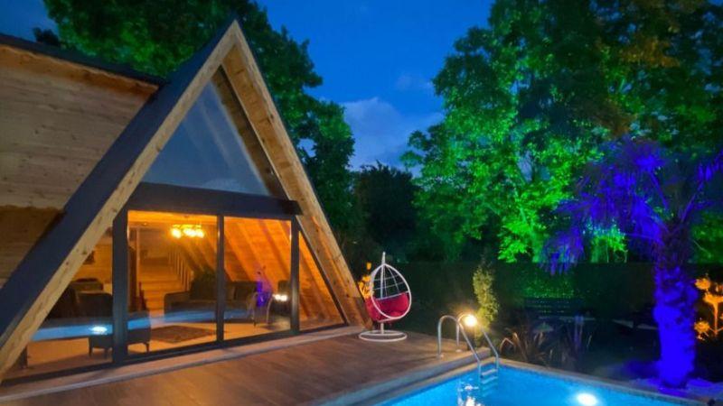Sapanca'da bungalov turizmi patladı