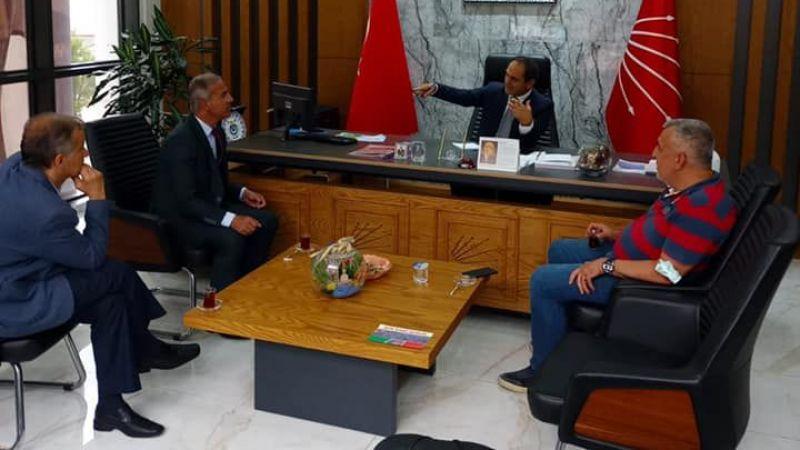Romanlar'dan CHP'ye ziyaret