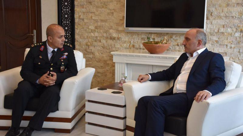 Başkan Kılıç'tan Jandarma'ya ziyaret