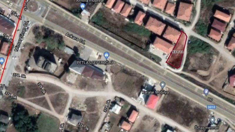 Karasu'da belediyeden satılık milyonluk arsa