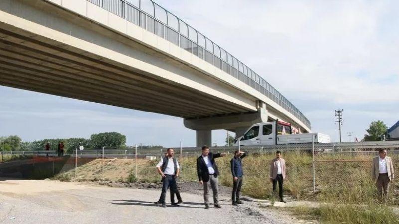 Akyazı Vakıf Köprüsü trafiğe açıldı